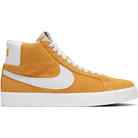 Nike SB ZOOM BLAZER MID UNIVERSITY GOLD/WHITE-UNIVERSITY GOLD
