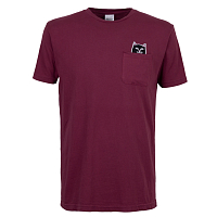 RIPNDIP LORD JERMAL POCKET TEE WINE