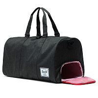 Herschel Novel Black Crosshatch