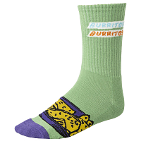 RVCA HOT FUDGE CREW SOCK GREEN