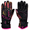 Roxy JETTY GLOVES J GLOV TRUE BLACK NIGHT PALM