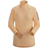 Arcteryx RHO AR ZIP NECK WOMEN ELIXIR