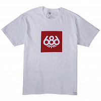 686 KNOCKOUT S/S White
