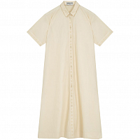 YMC JENNY DRESS ECRU