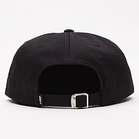 OBEY ICON LABEL 6 PANEL STRAPBACK BLACK
