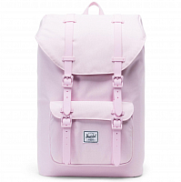 Herschel Little America Mid-Volume Pink Lady Crosshatch