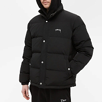 Stussy SOLID PUFFER JACKET BLACK