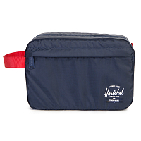 Herschel TOILETRY BAG NAVY/RED