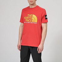 The North Face M SS FINE ALP TEE 2 SUNBAKED R (PKB)