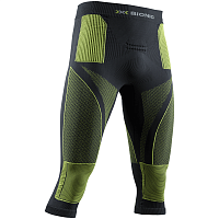 X-Bionic Energy Accumulator 4.0 Pants 3/4 MEN CHARCOAL/YELLOW