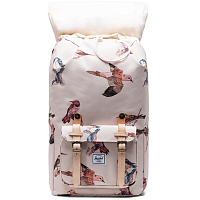 Herschel Little America NATURAL BIRDS
