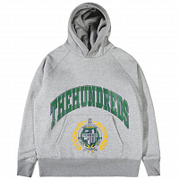 THE HUNDREDS ALMA PULLOVER ATHLETIC HEATHER