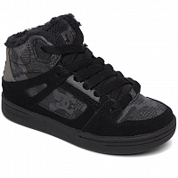DC PURE HT WNT B SHOE BLACK CAMOUFLAGE