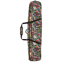 Burton WHEELIE GIG BAG STICKERS PRINT