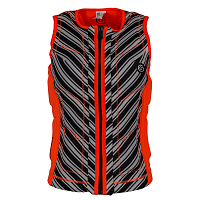 Glidesoul VEST Peach/Black/Stripes