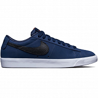Nike SB ZOOM BLAZER LOW GT ISO MIDNIGHT NAVY/BLACK-MIDNIGHT NAVY