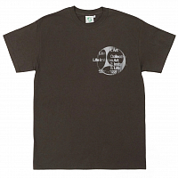 LIARS COLLECTIVE T-SHIRT 3 FORMS CHOCOLATE