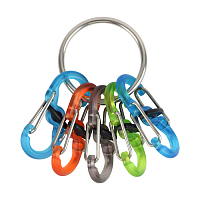 Nite Ize KEYRING LOCKER Stainless