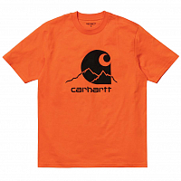 Carhartt WIP S/S OUTDOOR C T-SHIRT CLOCKWORK / BLACK