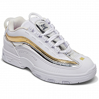 DC Legacy OG J Shoe WHITE/GOLD