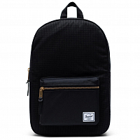 Herschel Settlement Mid-Volume DARK GRID/BLACK