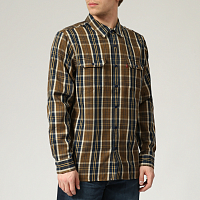 Levi's® JACKSON WORKER ARCHER SEPIA PLAID