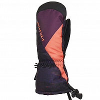 686 YOUTH HEAT INSULATED MITT BLACKBERRY BLANKET COLORBLOCK