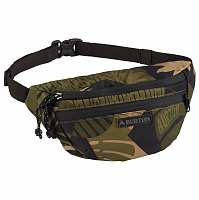 Burton HIP PACK OLIVE WOODCUT PALM