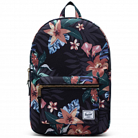 Herschel Settlement Mid-Volume SUMMER FLORAL BLACK