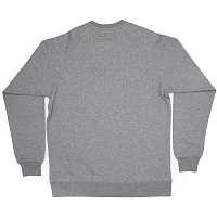Planks Drop Cliffs Stencil Crew SPORTS GREY