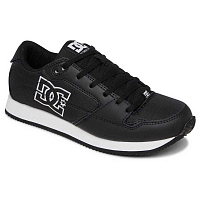 DC ALIAS J SHOE BLACK/WHITE