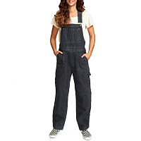 RVCA LILO OVERALL FADED BLACK