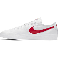 Nike SB BLZR COURT WHITE/UNIVERSITY RED-WHITE-BLACK