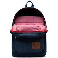 Herschel Pop Quiz INDIGO DENIM CROSSHATCH