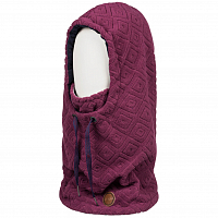 Roxy RX  2N1 COLLAR J NKWR GRAPE WINE LOSANGE JACQUARD