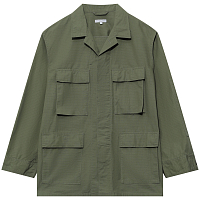 ENGINEERED GARMENTS BDU JACKET OLIVE COTTON RIPSTOP