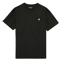 Carhartt WIP S/S CHASE T-SHIRT BLACK / GOLD