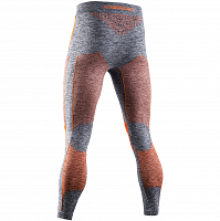 X-Bionic Energy Accumulator 4.0 Melange Pants MEN Grey Melange/Orange