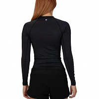 Hurley W ONE & ONLY RASHGUARD L/S BLACK