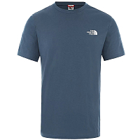 The North Face M S/S SIMPLE DOME TE BLUE WING (N4L)