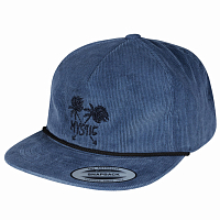 Mystic THE SMILER CAP DENIM BLUE