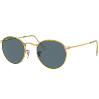 Ray Ban ROUND METAL LEGEND GOLD/BLUE