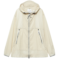 And Wander PERTEX WIND JACKET OFF WHITE