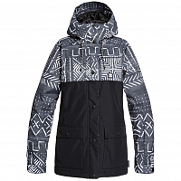 DC CRUISER JKT J SNJT BLACK MUD CLOTH PRIN