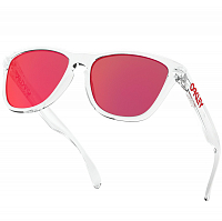 Oakley Frogskins POLISHED CLEAR/TORCH IRIDIUM