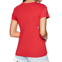 Volcom EASY BABE RAD 2 TEE RED