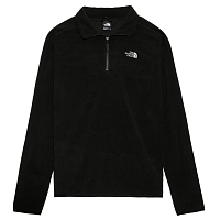 The North Face M 100 GLACIER 1/4 ZP TNF BLACK (JK3)