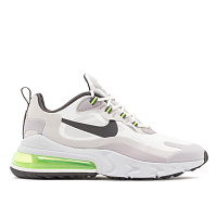 Nike AIR MAX 270 REACT SUMMIT WHITE/ELECTRIC GREEN-VAST GREY