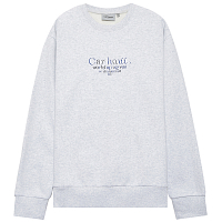 Carhartt WIP Commission Sweatshirt ASH HEATHER