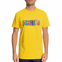 DC COLOR BLOCKS SS M TEES DANDELION